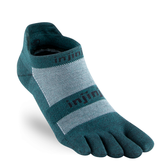 Injinji® Run Lightweight No-Show Nüwool