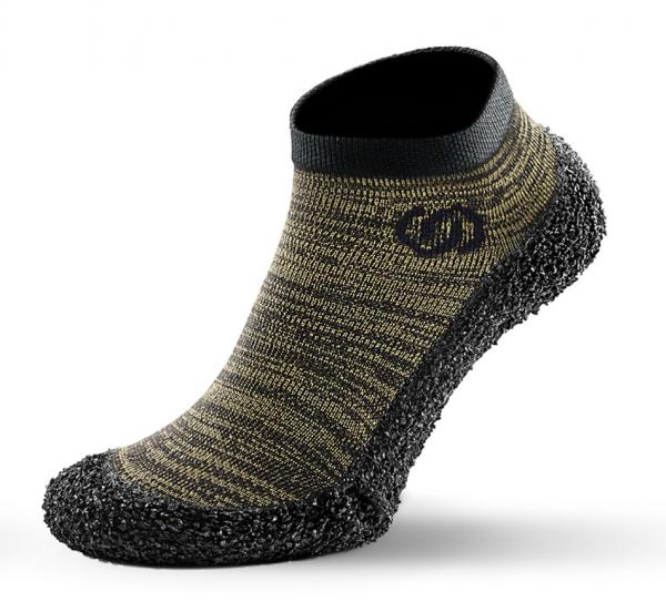 Skinners Barfuß Socken Schuhe athleisure model line olive green