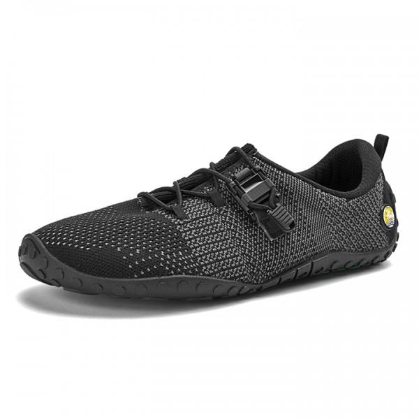Joe Nimble fuseToes Strick Sneaker black