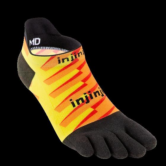 Injinji® SPECTRUM RUN Lightweight No-Show