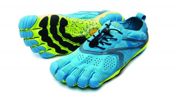 VIBRAM® FiveFingers® V-RUN Blue/Yellow