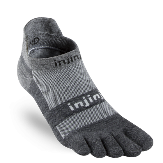 Injinji® RUN Lightweight No-Show NüWool