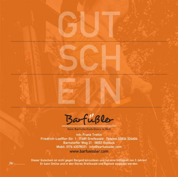 BARFÜßLER GESCHENK-GUTSCHEIN