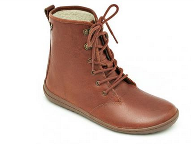 Vivobarefoot Gobi Ladies Hi Top Tobacco