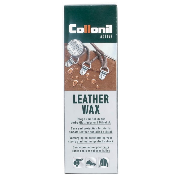 Collonil LEATHER WAX Tube 75ml Farblos