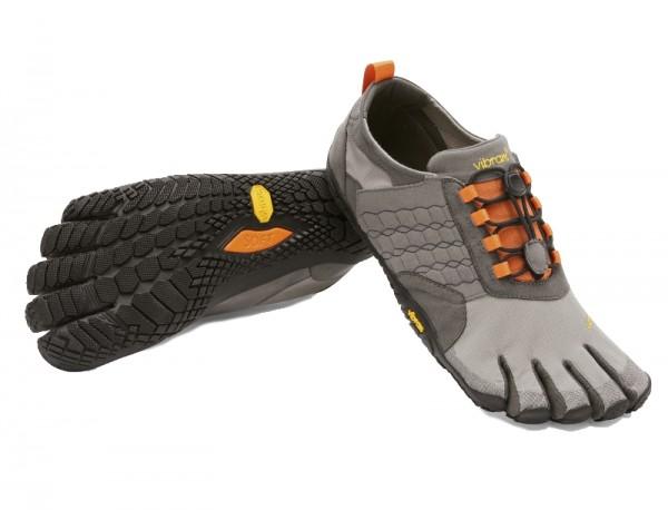 VIBRAM® FiveFingers® TREK ASCENT Men Grey/Black/Orange
