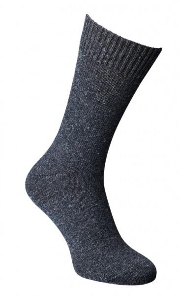 """Fellhof Alpaka - Wolle - Socken """"Dünn"""" anthrazit"""