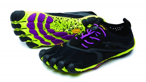 VIBRAM® FiveFingers® V-RUN Black/Yellow/Purple 2018