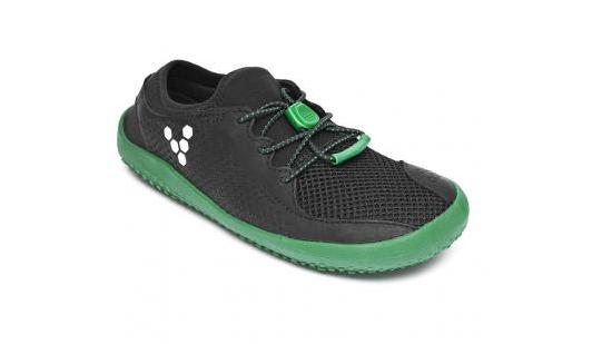 Vivobarefoot Primus Kids Black/Green