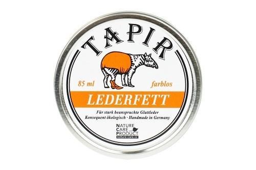 Tapir LEDERFETT farblos 85 ml