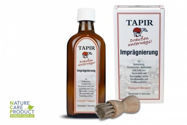 """Tapir """"DRAUßEN UNTERWEGS"""" Imprägnierung"""