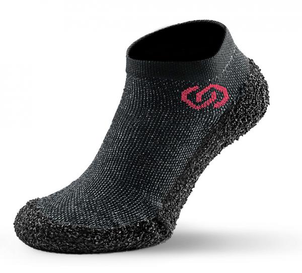 Skinners Barfuß Socken Schuhe athleisure model line speckled black
