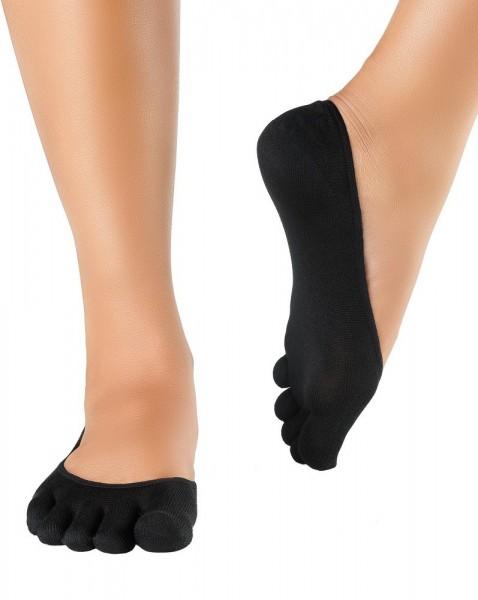 Knitido Silkroad Seidenfüßlinge Socken schwarz