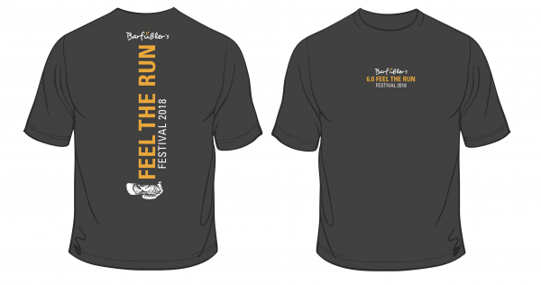 ORIGINAL FEEL THE RUN Shirt Festival Edition 2018