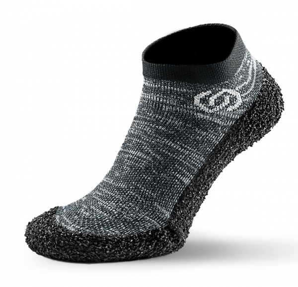 Skinners Barfuß Socken Schuhe athleisure model line granite grey